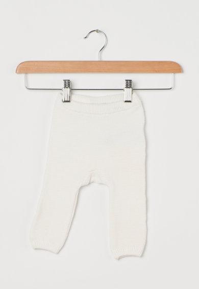 Pantaloni tricotati albi de la Name it