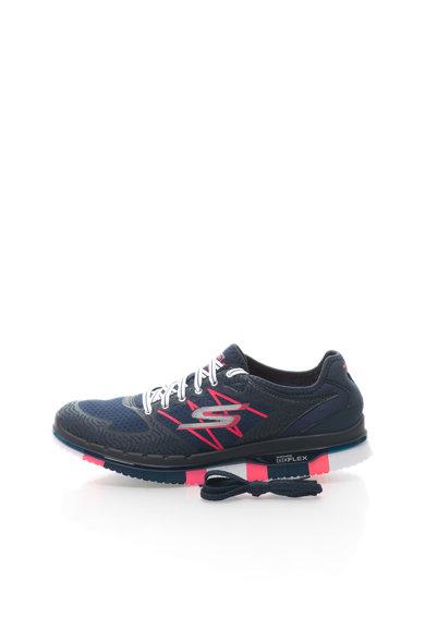 Pantofi sport bleumarin de plasa Go Flex