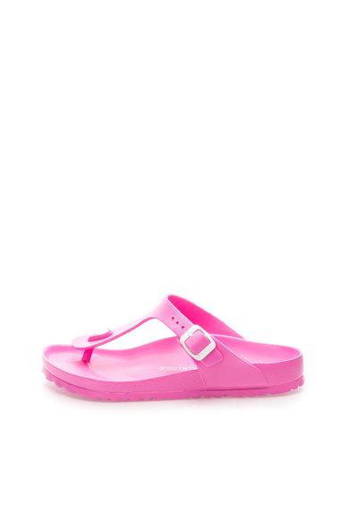 Papuci flip-flop roz bombon Gizeh de la Birkenstock