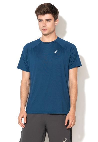 Tricou albastru paun pentru antrenament Essential de la Asics