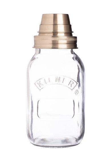 Set de shaker din sticla pentru cocktail de la Kilner