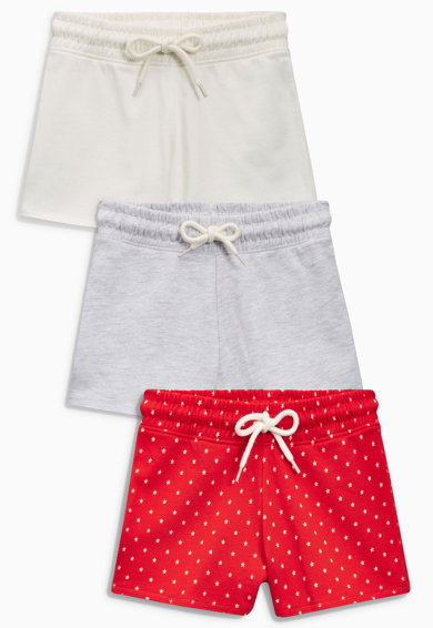 Set de pantaloni scurti multicolori – 3 perechi de la NEXT