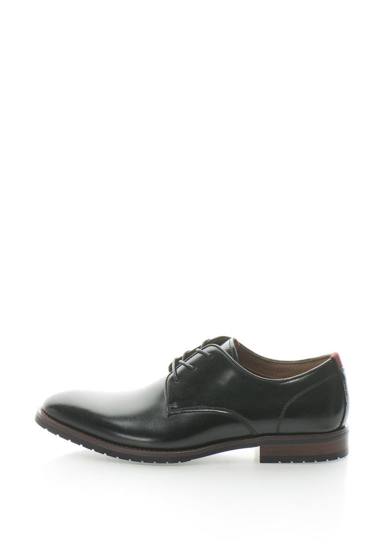 Pantofi derby de piele Giracien