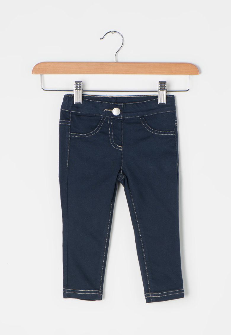 Jeggings skinny bleumarin inchis de la United Colors of Benetton