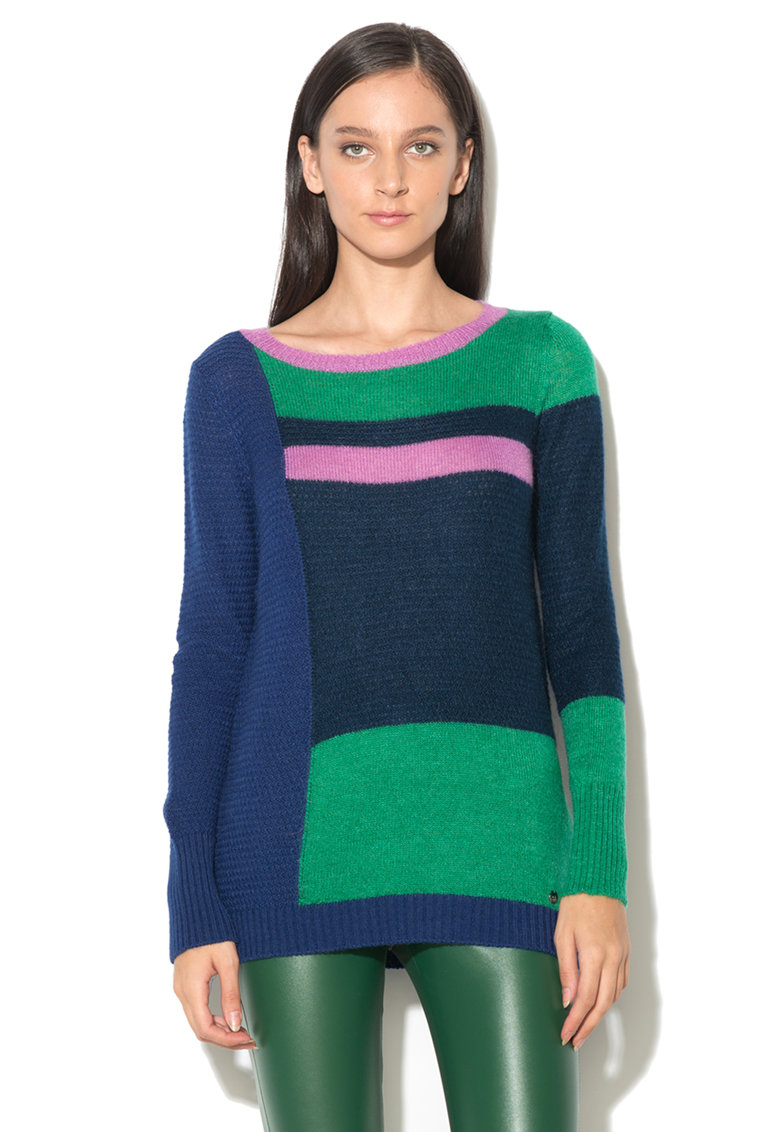 United Colors of Benetton Pulover color block multicolor