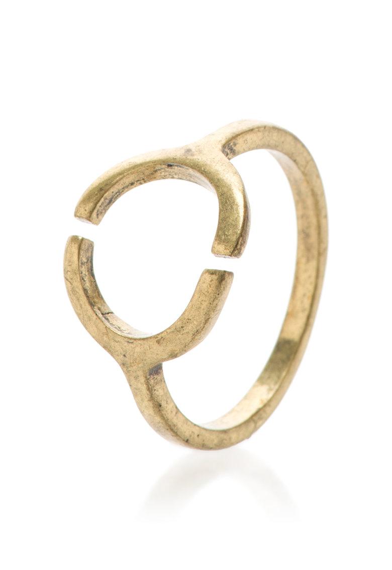 Pepe Jeans London Inel auriu cu aspect antichizat Chiara 0