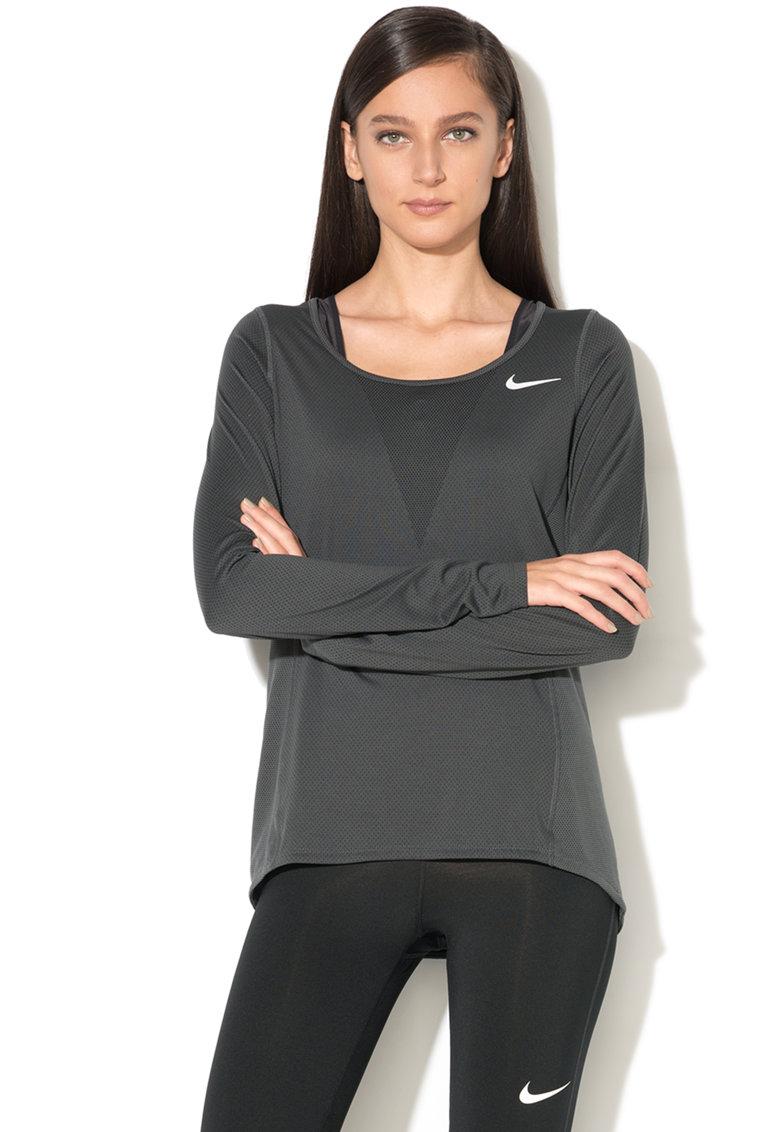 Bluza cu plasa – pentru alergare de la Nike