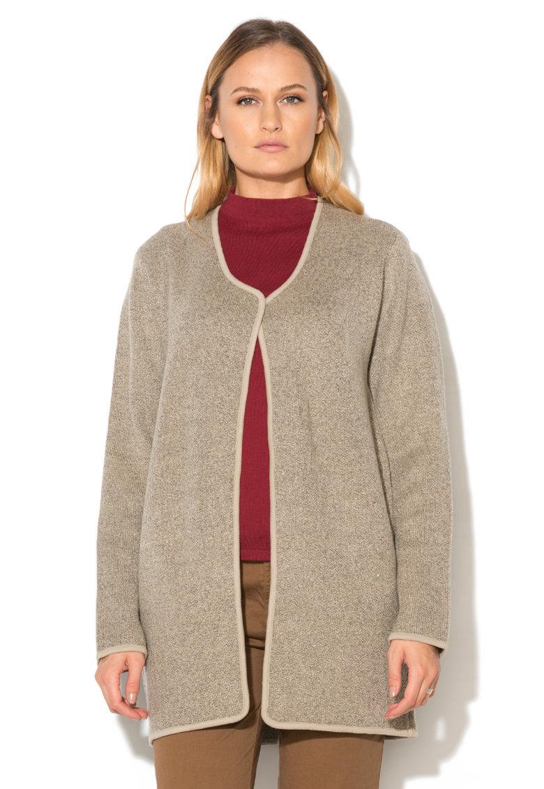 Esprit Cardigan lung tricotat grej