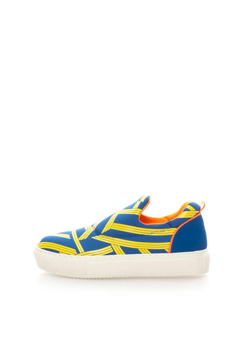 Pantofi slip-on flatform
