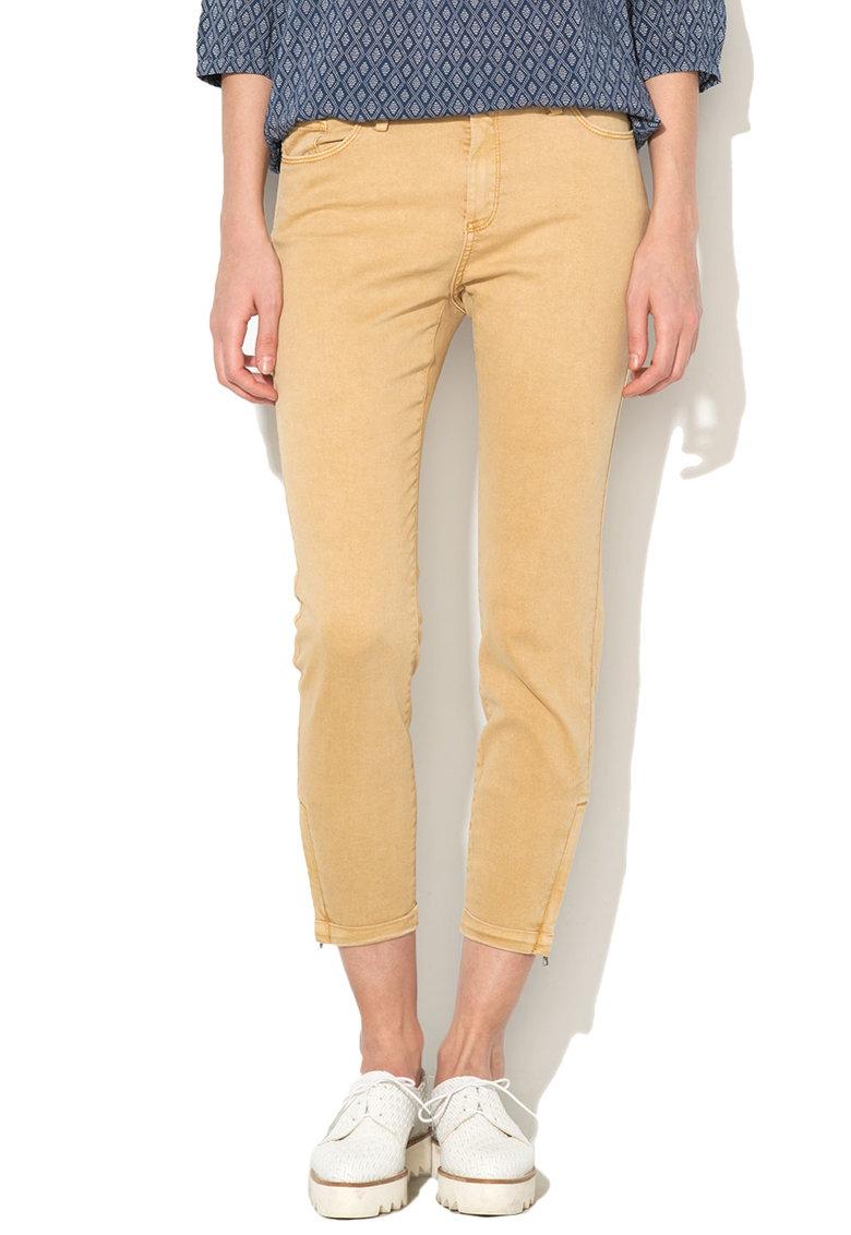 Pantaloni crop skinny fit EDC by Esprit