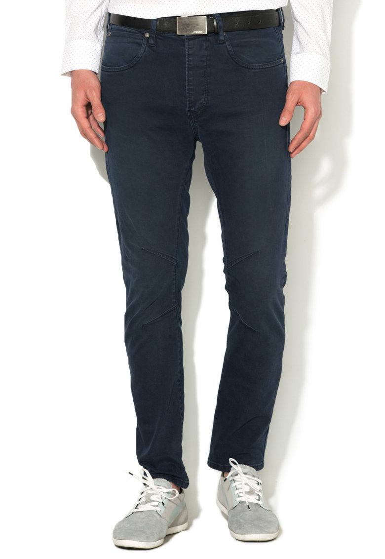 JackJones Pantaloni conici bleumarin Luke