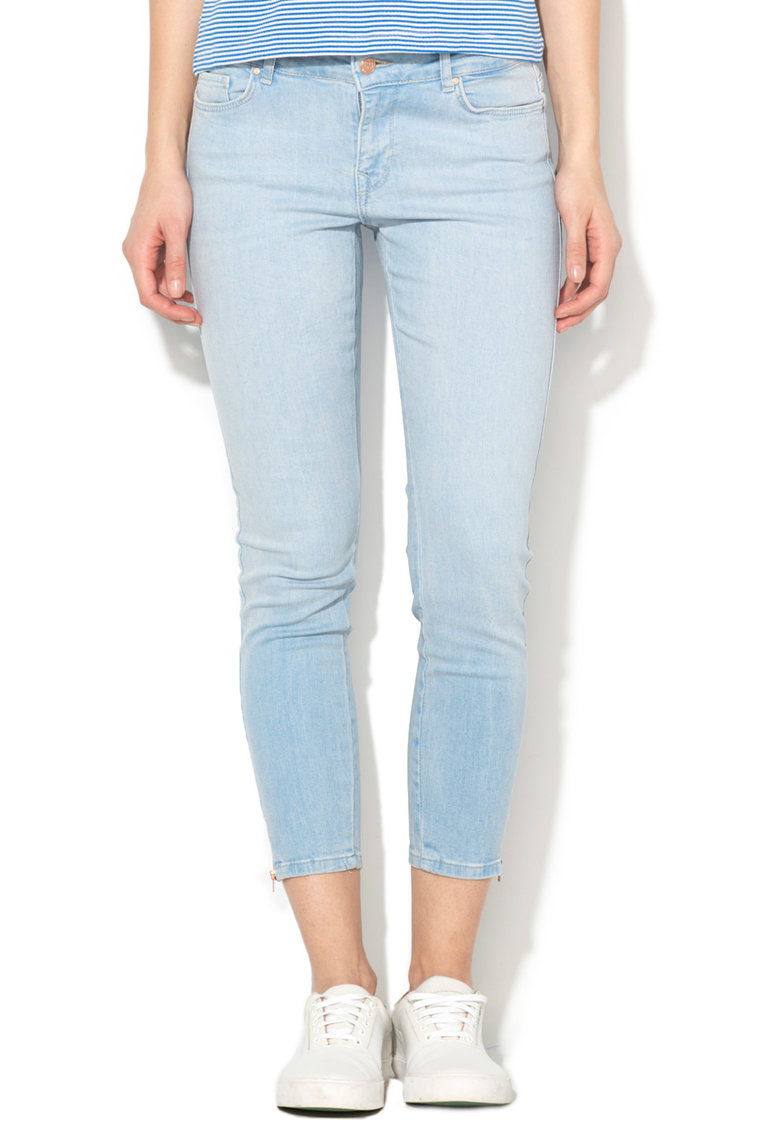Only Jeansi crop bleu regular fit Carmen