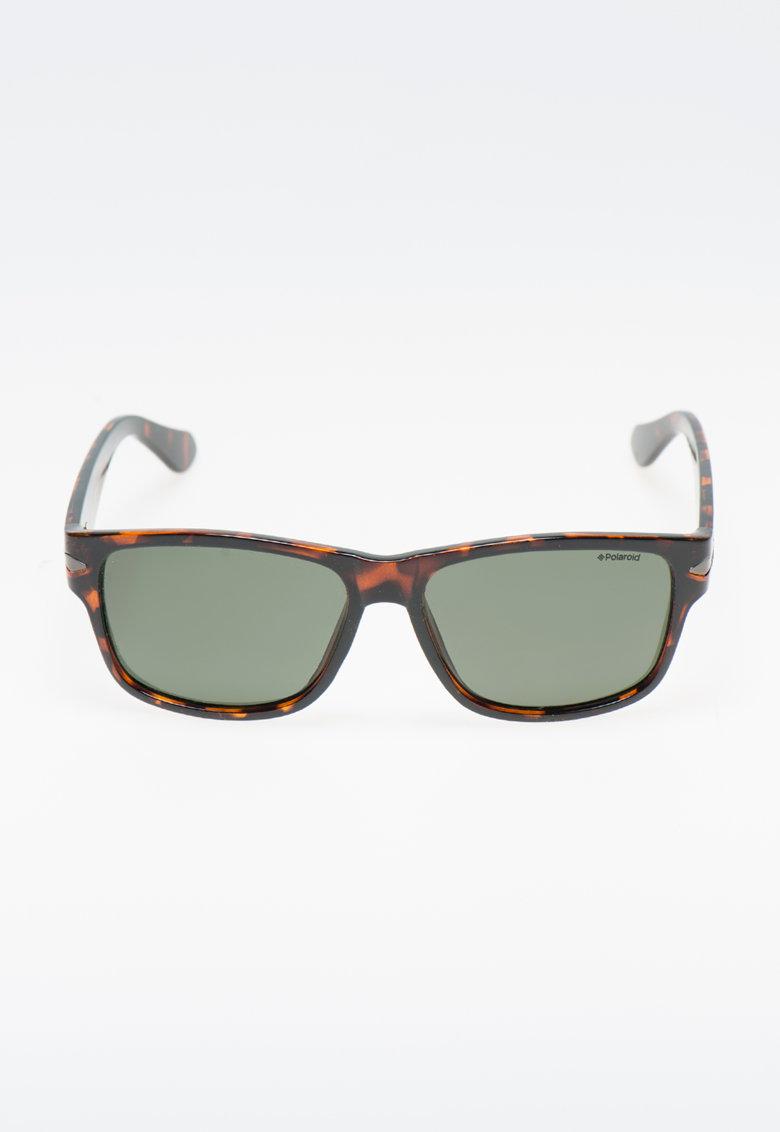 Polaroid Ochelari de soare maro tortoise polarizati
