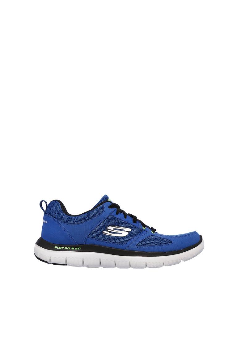 Skechers Tenisi albastru cu negru Flex Advantage 2.0