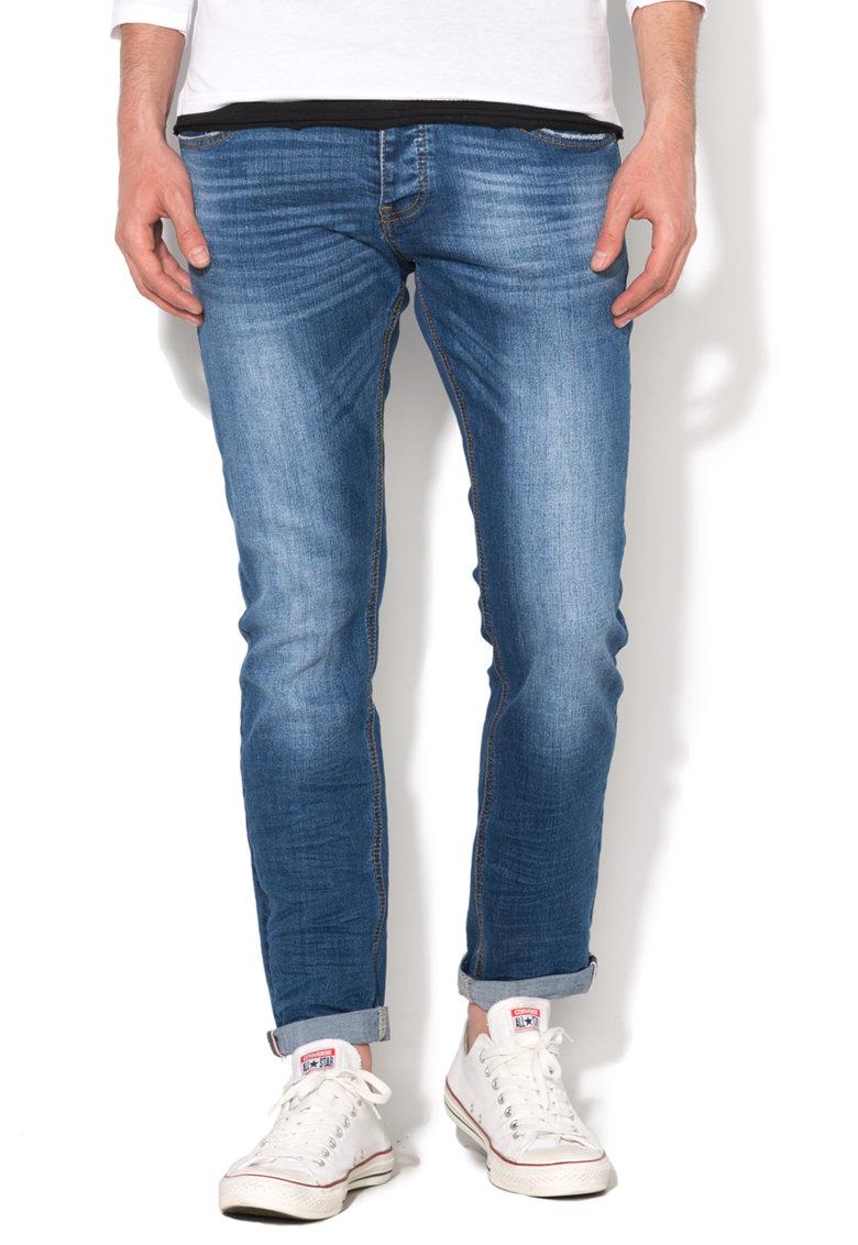 Zee Lane Denim Jeansi albastru inchis drepti