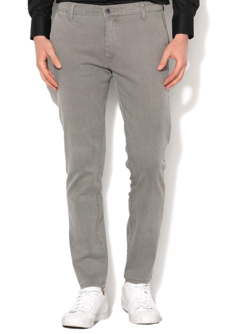 Pantaloni chino in dungi Zee Lane Denim