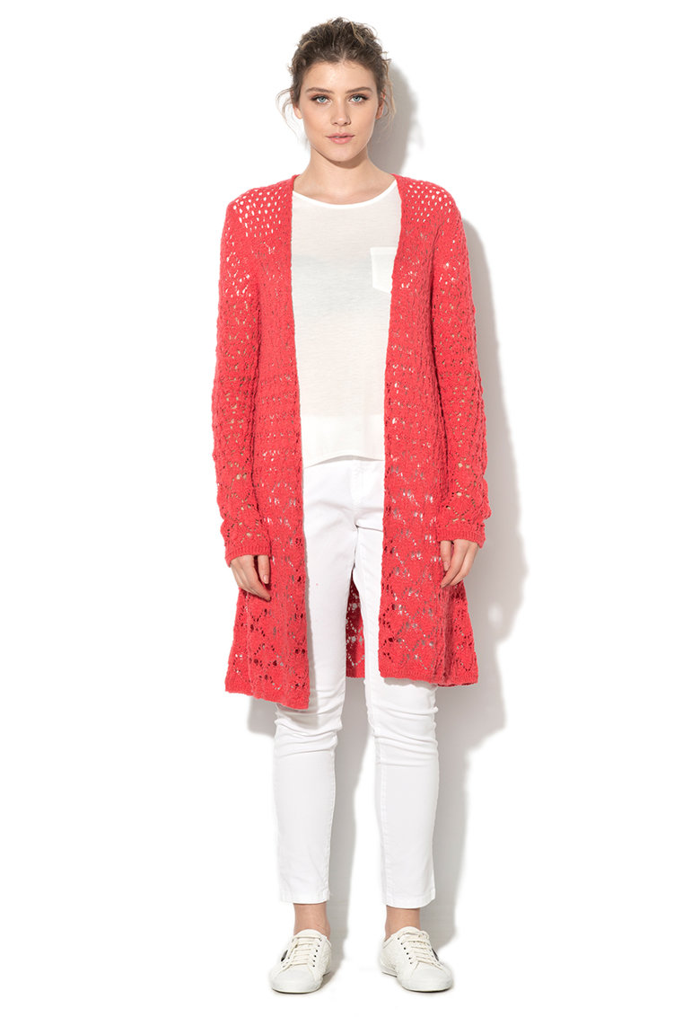 United Colors Of Benetton Cardigan corai tricotat