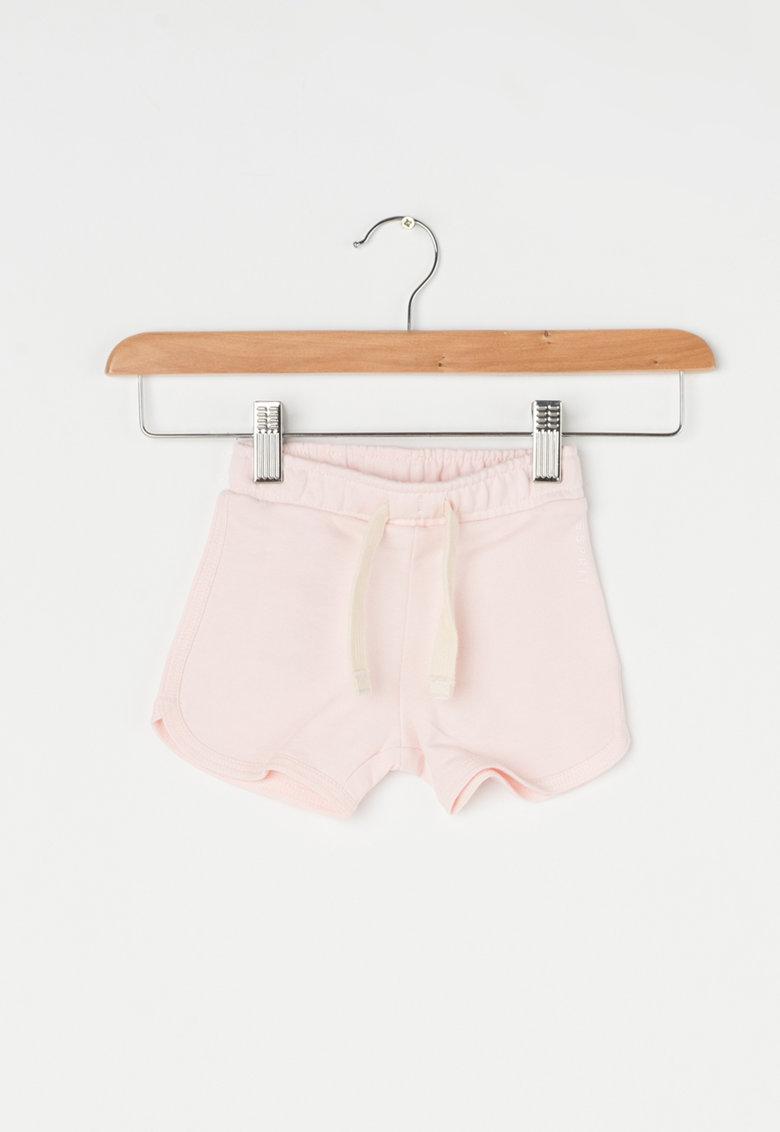 Pantaloni scurti roz pastel cu snur de la Esprit