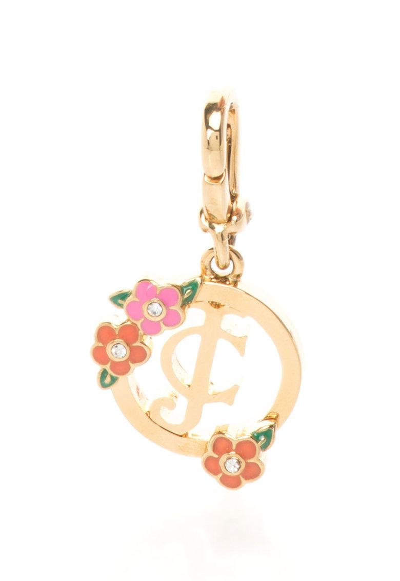 Juicy Couture Pandantiv auriu cu logo