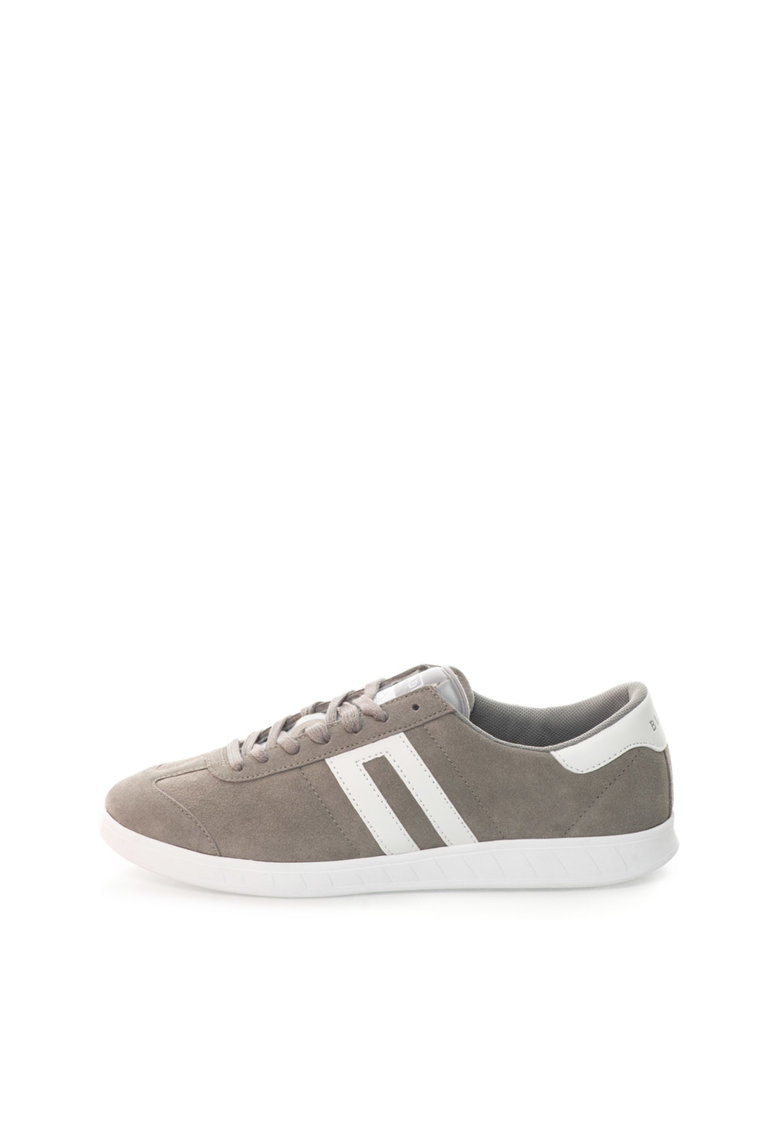 BLEND Pantofi sport gri maur