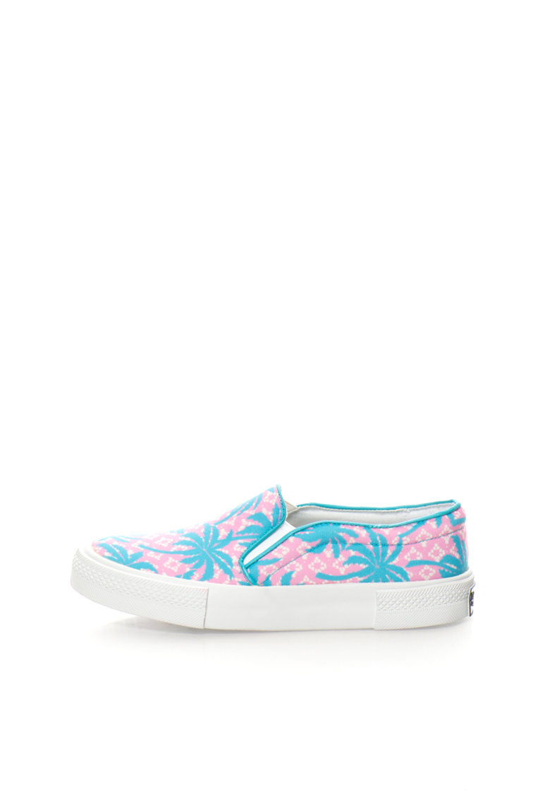 Juicy Couture Pantofi slip-on multicolori cu imprimeu Brynn