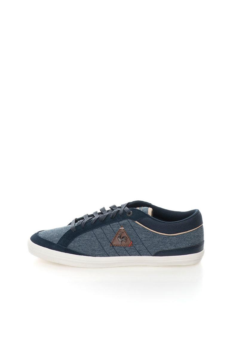 Le Coq Sportif Pantofi sport albastri cu aspect de denim Feretcraft