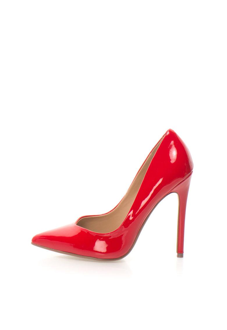 Pantofi stiletto rosii Wicket