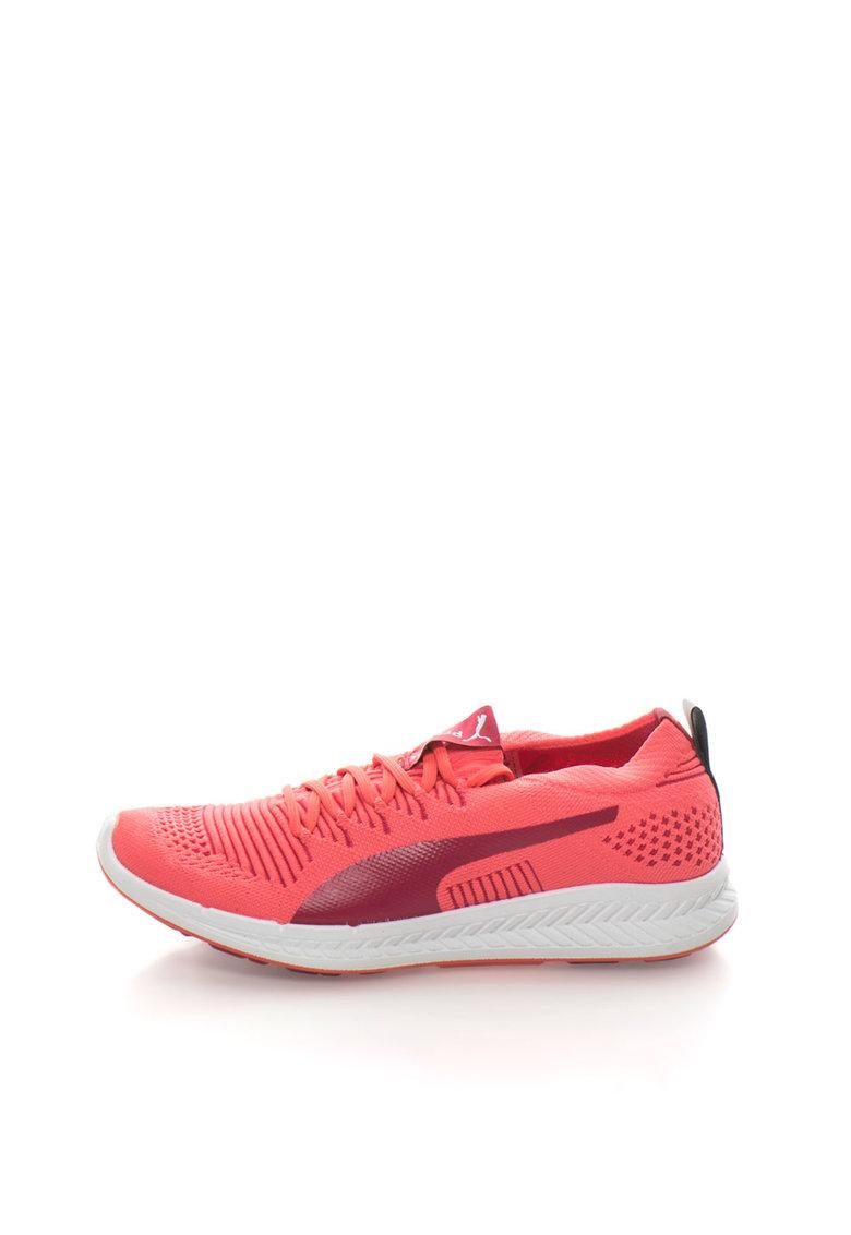 Puma Pantofi sport corai neon Ignite ProKnit