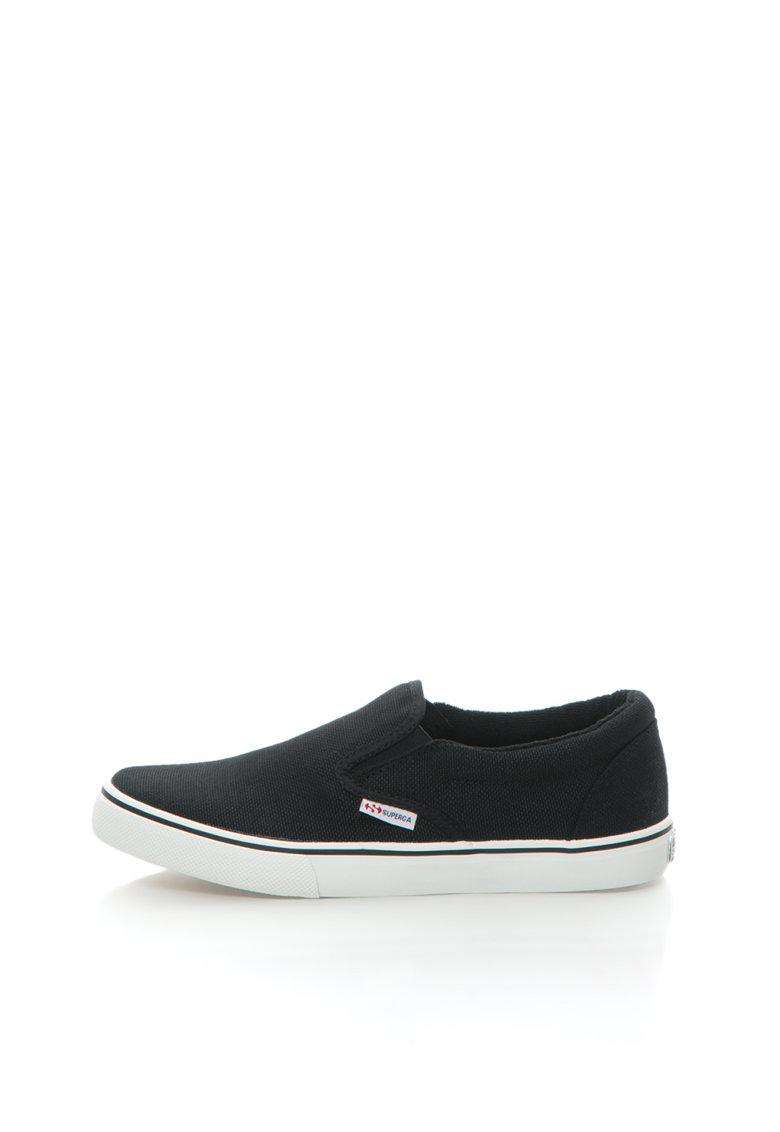 Pantofi slip-on negri