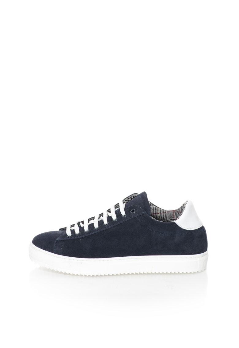 Zee Lane Pantofi sport bleumarin de piele intoarsa