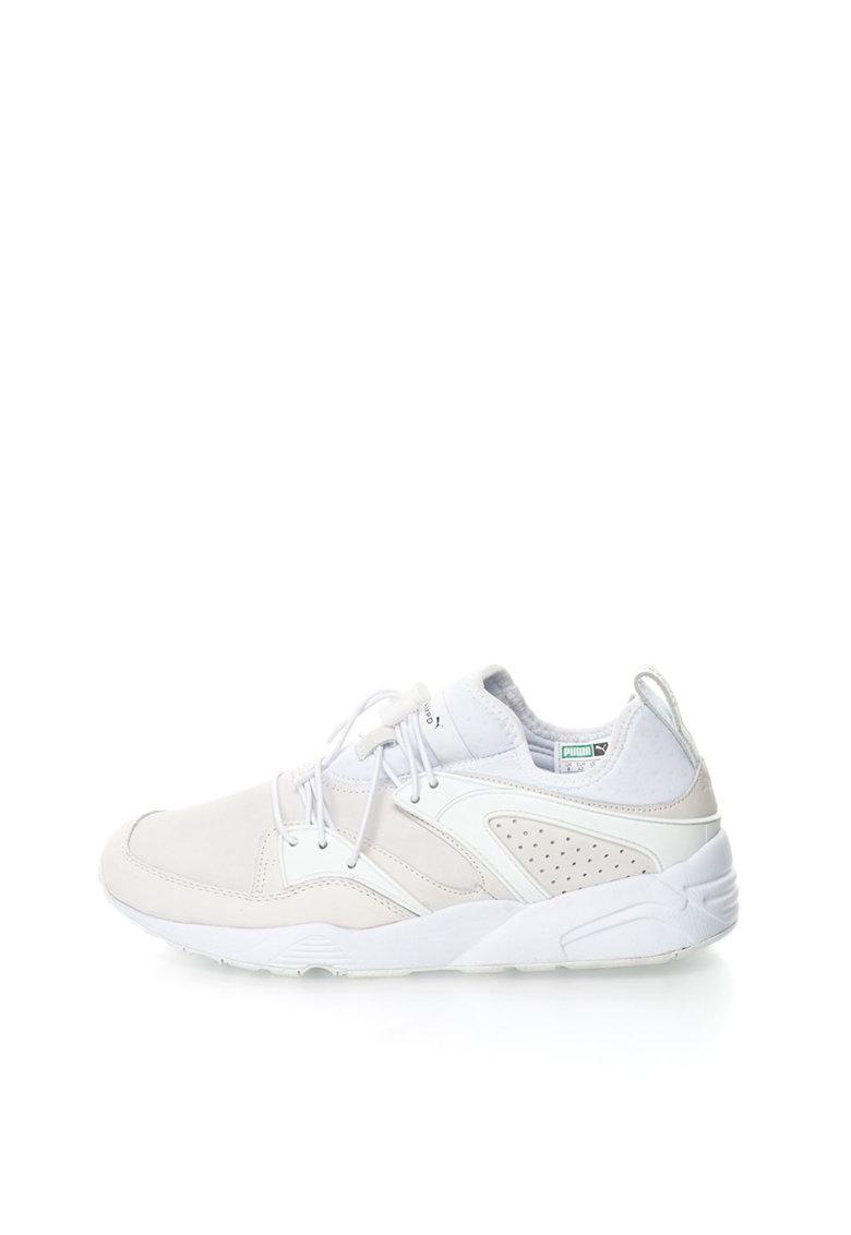 Puma Pantofi sport slip-on alb cu ecru Blaze Of Glory