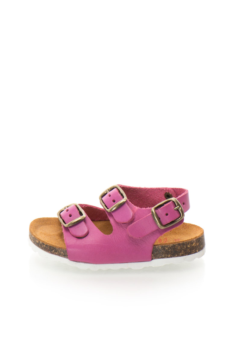 Zee Lane Sandale slingback roz mineral de piele Alex