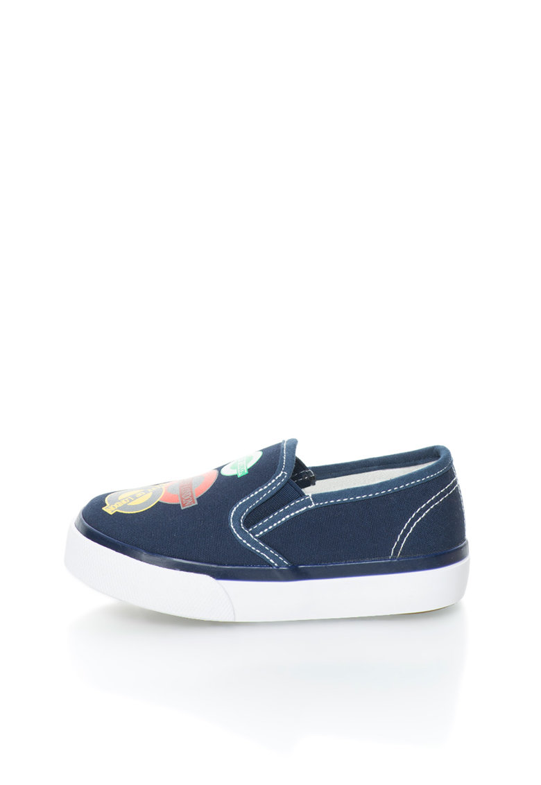 OMS by Original Marines Pantofi slip-on bleumarin de panza