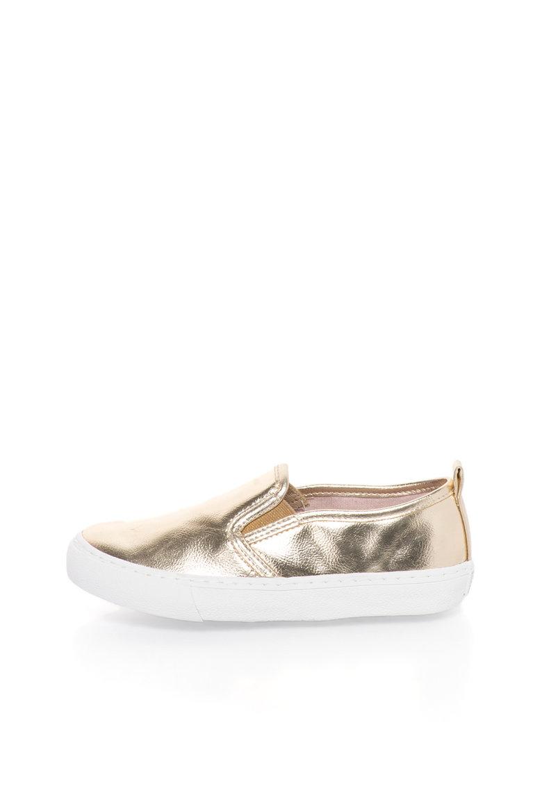 Gioseppo Pantofi slip-on aurii Nasau