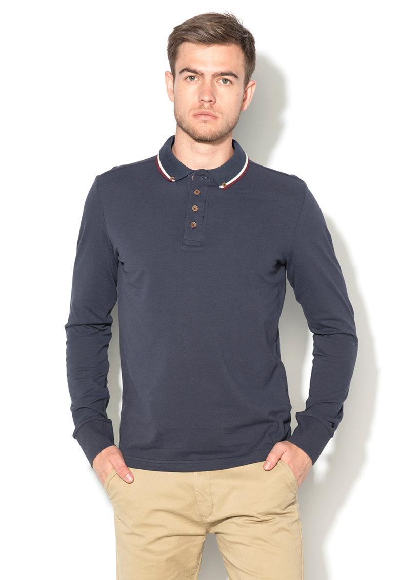 BRAVE SOUL Bluza polo bleumarin Kennedyc
