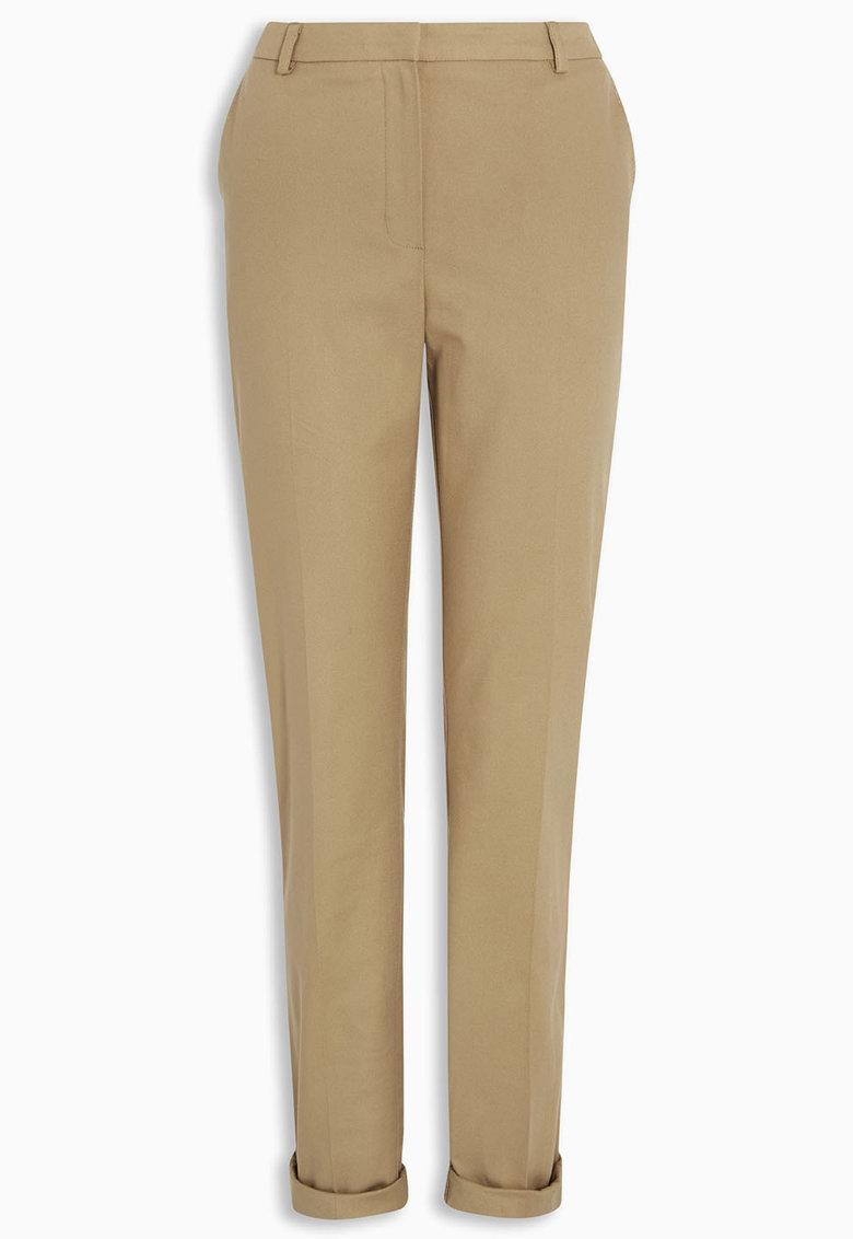 NEXT Pantaloni crop bej nisip