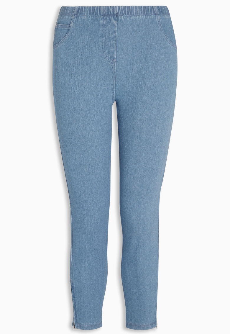 Jeggings crop bleu de la NEXT