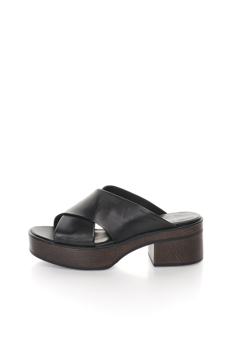 Vagabond Shoemakers Papuci negri de piele Noor