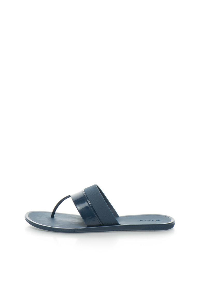 Lacoste Papuci flip-flop bleumarin Promenade Ace