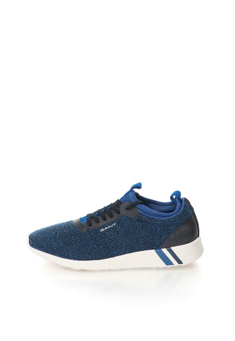 Pantofi sport slip-on albastru melange Capo Gant