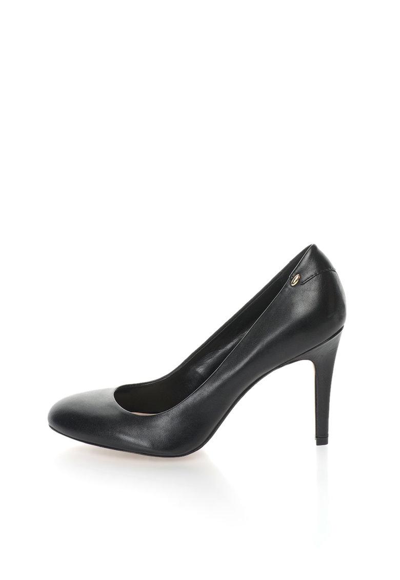 Aldo Pantofi stiletto negri de piele Lahren
