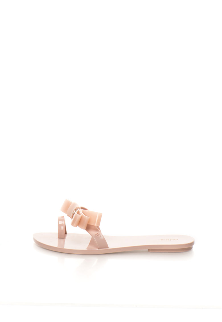 Melissa Papuci flip-flop roz pastel cauciucati Constellation
