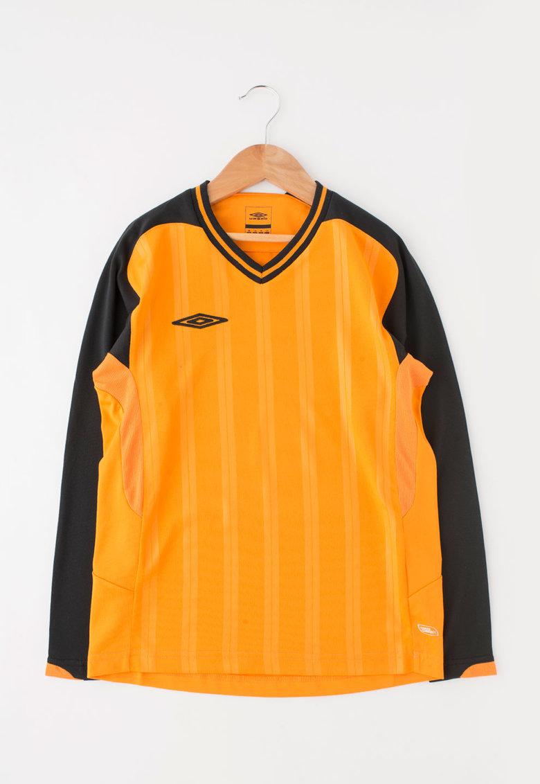 Bluza sport oranj cu negru