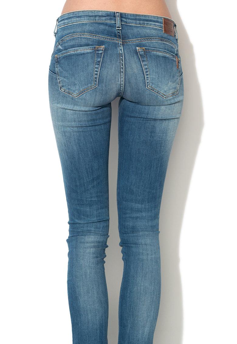 Jeansi skinny albastri Skylar de la Big Star