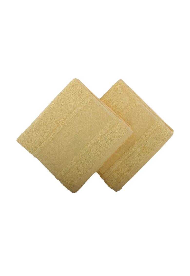 Leunelle Set de prosoape galben pai pentru maini – 2 piese