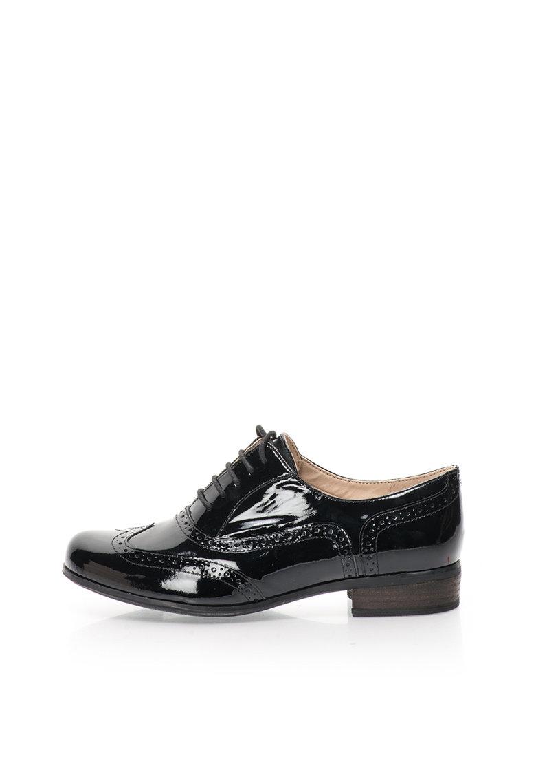 Pantofi de piele lacuita Hamble Oak