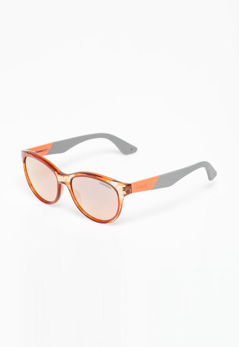 Ochelari de soare oranj cu gri de la Carrera