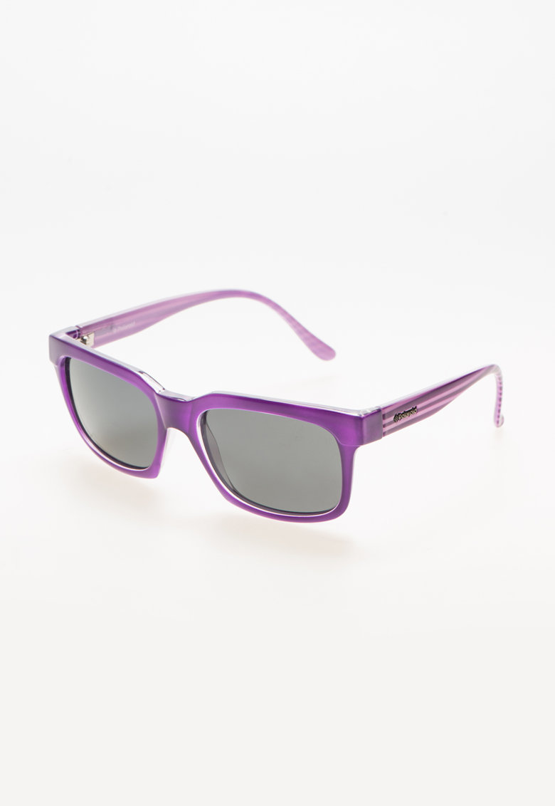 Polaroid Ochelari de soare purpurii cu logo metalic