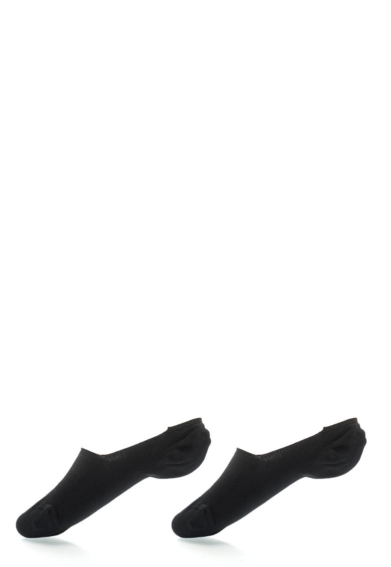 Puma Set de sosete foarte scurte negre – 2 perechi
