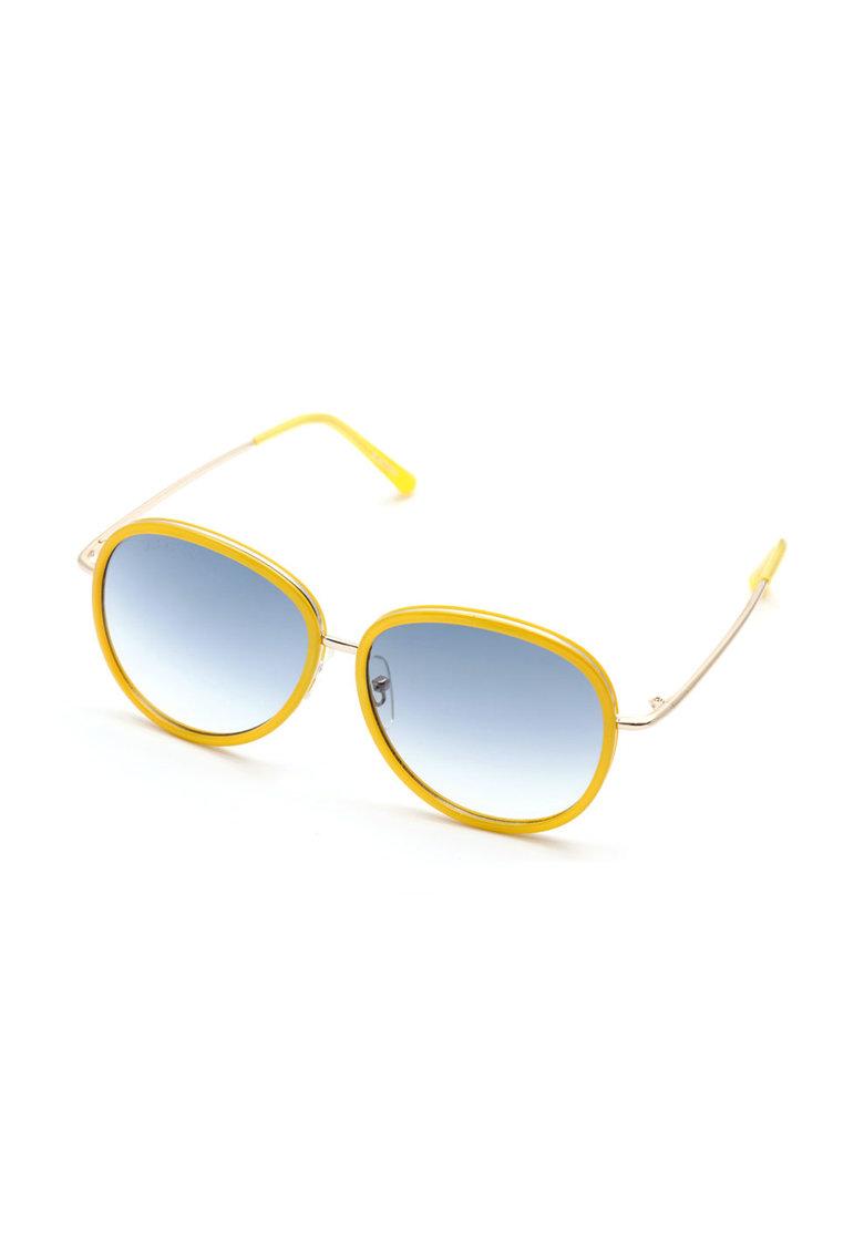 Ochelari de soare galben cu auriu Carroll de la Lancaster